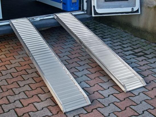 Rampe in alluminio portatata qli 22 a 27