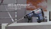 Martello Perforatore e Scalpellatore Mod.GBH 8-45 DV